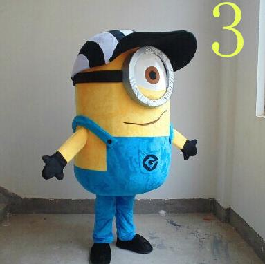 Despicable Me Minion Mascotte 3