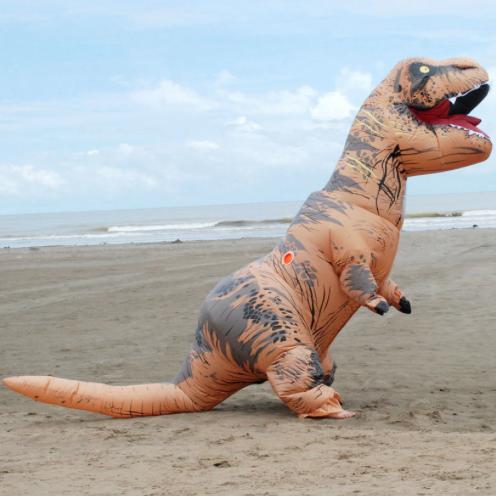 Opblaasbaar T-Rex Pak