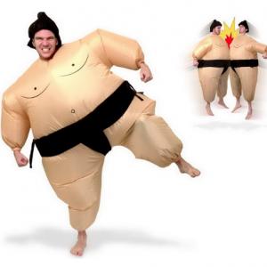 Opblaasbaar sumo worstelaar pak