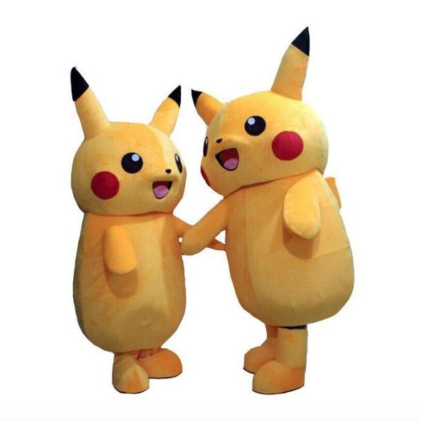 pikachu mascotte pak