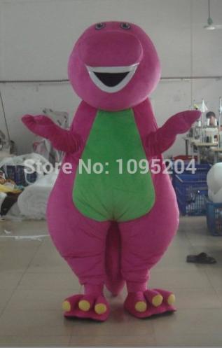 Barney Mascotte Kostuum