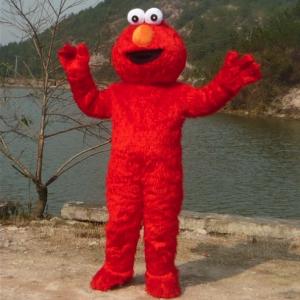 Elmo Mascotte Kostuum 1