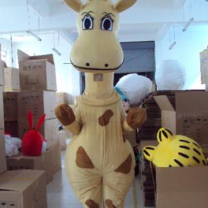 Giraffe Mascotte Kostuum
