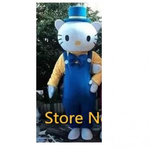 Hello Kitty Man Mascotte Kostuum