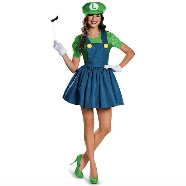 Luigi Kostuum (vrouw)