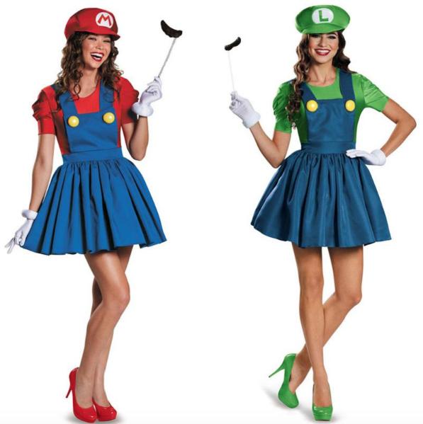 Mario & Luigi Kostuum (vrouw)