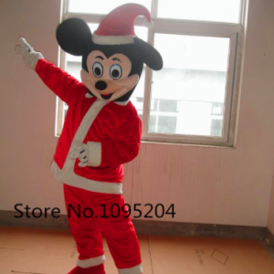 Mickey Mouse Kerst Mascotte Kostuum