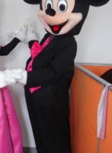 Mickey Mouse Roze Pak Mascotte Kostuum