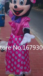 Minnie Mouse Jurk Mascotte Kostuum