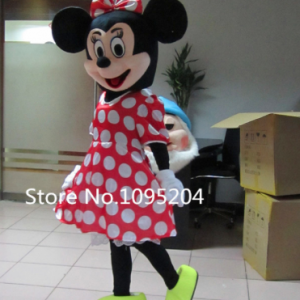 Minnie Mouse Mascotte Kostuum