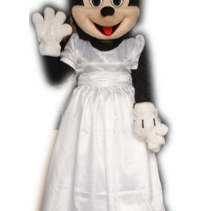Minnie Mouse Trouwjurk Mascotte Kostuum