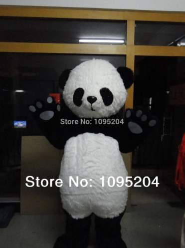 Panda Mascotte Kostuum