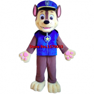 Politie Mascotte Kostuum