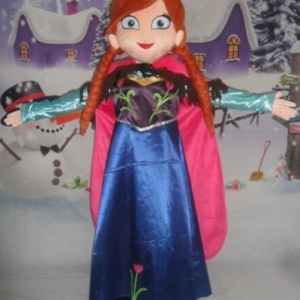 Prinses Anna Mascotte Kostuum