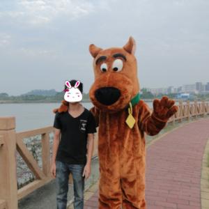Scooby Doo Mascotte Kostuum