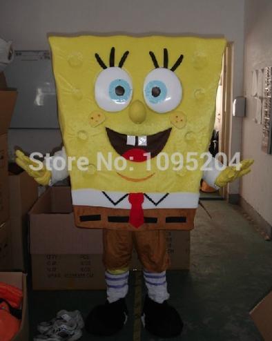Spongebob Mascotte Kostuum 1