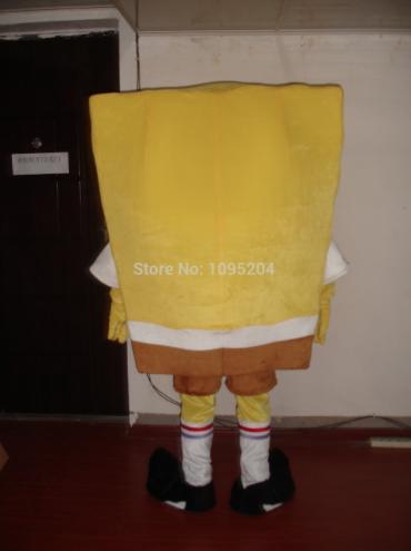 Spongebob Mascotte Kostuum 2