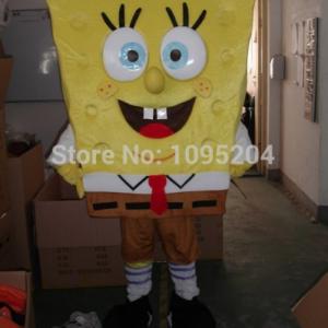 Spongebob Mascotte Kostuum