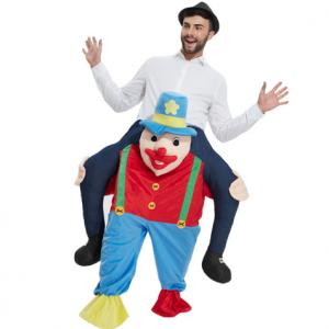 carnavalskostuum clown