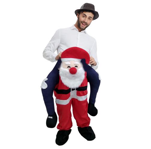 carnavalskostuum kerstman