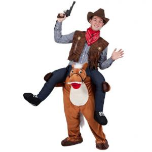 carnavalskostuum paard