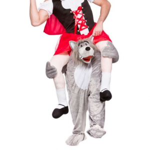 carnavalskostuum wolf