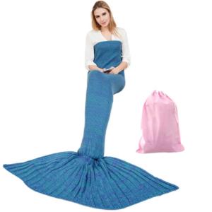 zeemeermin snuggy blauw