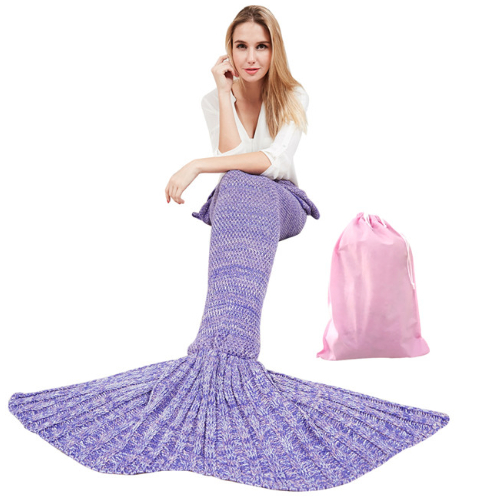 zeemeermin snuggy licht paars