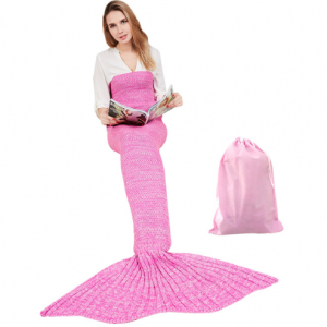 zeemeermin snuggy roze